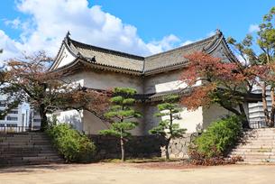 大阪城西の丸・乾櫓の写真素材 [FYI03124274]