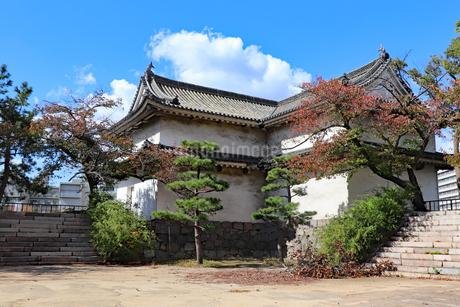 大阪城西の丸・乾櫓の写真素材 [FYI03124275]