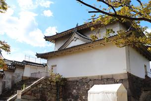 大阪城・千貫櫓の写真素材 [FYI03124277]