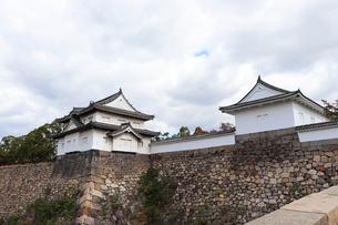 大阪城・大手口の櫓の写真素材 [FYI03124280]