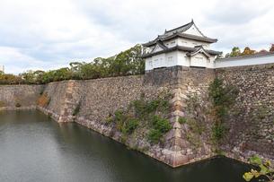 お城の櫓の写真素材 [FYI03124281]