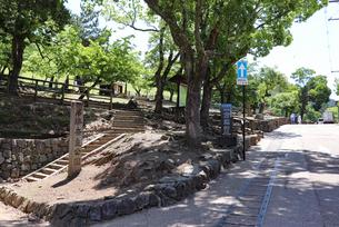 奈良公園・若草山ゲートの写真素材 [FYI03124361]