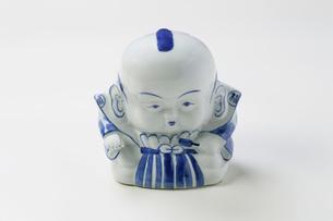 陶器の福助の写真素材 [FYI03124373]