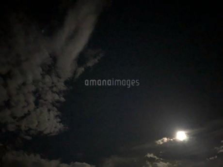 夜空の写真素材 [FYI03124451]
