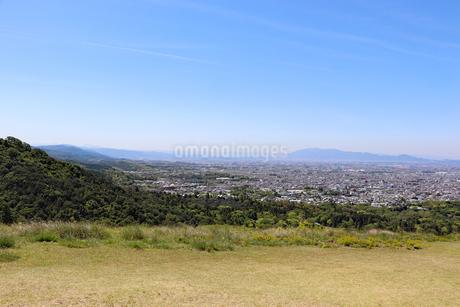 若草山の眺望の写真素材 [FYI03124453]
