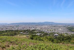 若草山の眺望の写真素材 [FYI03124454]
