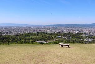 若草山からの眺めの写真素材 [FYI03124455]