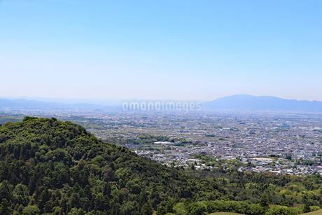 若草山の眺望の写真素材 [FYI03124474]