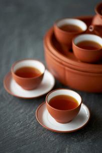 淹れたての中国茶の写真素材 [FYI03124790]