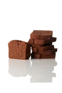 チョコレートパウンドケーキの写真素材 [FYI03124874]
