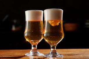 グラスビールの写真素材 [FYI03125006]