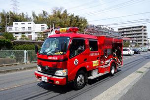 消防車の写真素材 [FYI03125351]