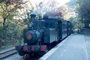 SL 蒸気機関車 の写真素材 [FYI03125454]