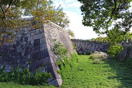 大阪城・本丸石垣の写真素材 [FYI03125470]