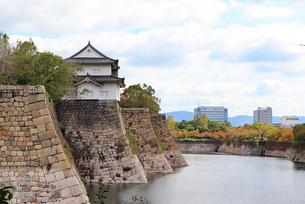 大阪城の櫓の写真素材 [FYI03125476]