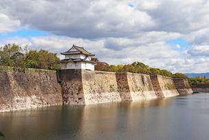 大阪城の外堀の写真素材 [FYI03125479]