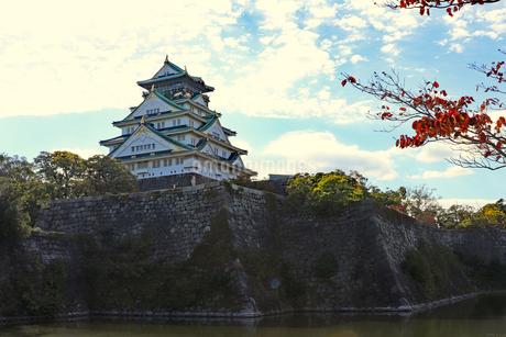 大阪城天守閣の写真素材 [FYI03125532]