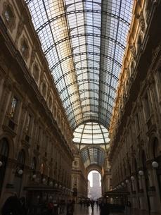 イタリアのミラノのガッレリアの写真素材 [FYI03125762]