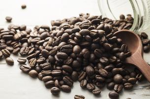 コーヒー豆の写真素材 [FYI03126019]