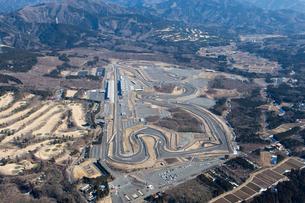 空撮 レース場の写真素材 [FYI03126189]