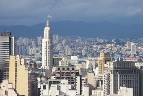 サンパウロの市街風景の写真素材 [FYI03126198]