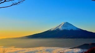 富士山の写真素材 [FYI03126202]