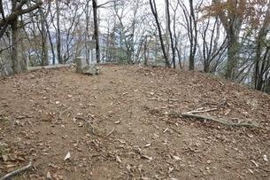 黒川山の山頂の写真素材 [FYI03126707]