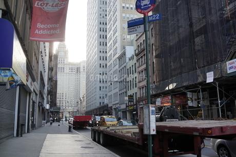 マンハッタンの朝の写真素材 [FYI03126822]