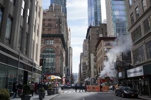 マンハッタンの街並みの写真素材 [FYI03126826]