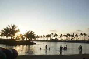 ハワイの海の写真素材 [FYI03126843]
