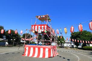 横浜 池ノ上公園の盆踊りの写真素材 [FYI03127119]