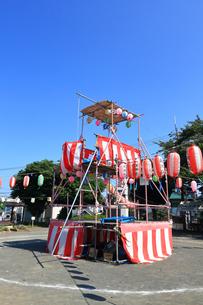 横浜 池ノ上公園の盆踊りの写真素材 [FYI03127124]