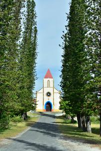 ニューカレドニア ムリ島にあるムリ教会の写真素材 [FYI03127269]