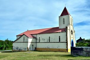 ニューカレドニア ムリ島にあるムリ教会の写真素材 [FYI03127278]