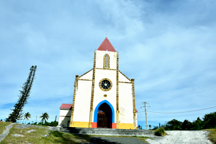 ニューカレドニア ムリ島にあるムリ教会の写真素材 [FYI03127280]