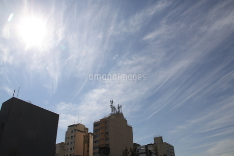 サンパウロの秋の空の写真素材 [FYI03127658]