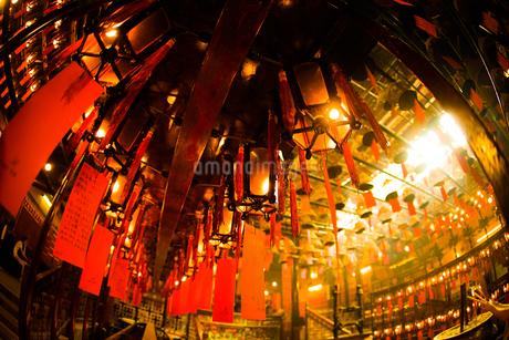 香港・文武廟の写真素材 [FYI03128001]