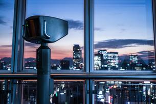 名古屋テレビ塔の展望台の写真素材 [FYI03128076]