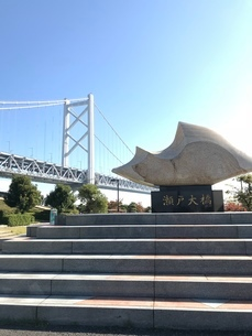 橋 記念碑の写真素材 [FYI03128121]
