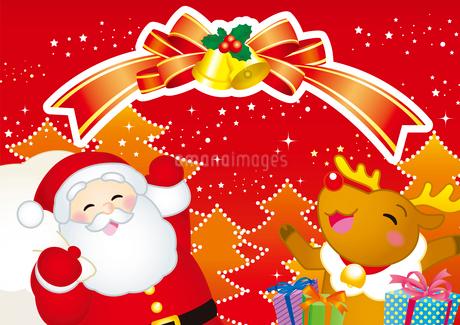 クリスマスのイラスト素材 [FYI03128233]