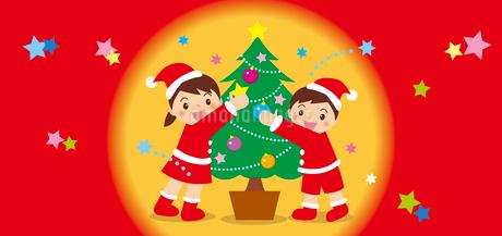 クリスマスのイラスト素材 [FYI03128235]