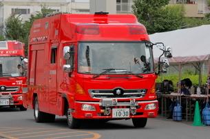 消防車 救助工作車の写真素材 [FYI03128343]