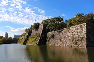 巨城の石垣の写真素材 [FYI03128454]