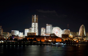 横浜夜景の写真素材 [FYI03128616]