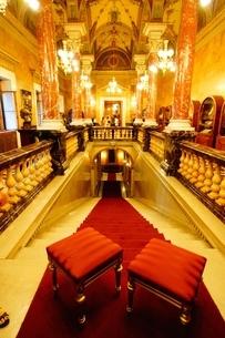 ハンガリー・ブダペスト国立歌劇場の写真素材 [FYI03128900]