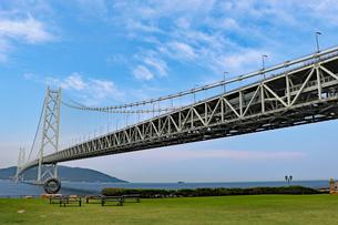 明石海峡大橋の写真素材 [FYI03129133]