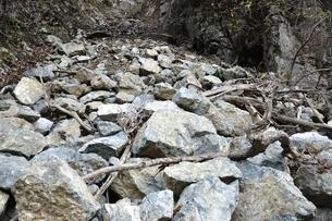 山崩れの写真素材 [FYI03129602]