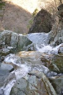 早戸大滝の滝口の写真素材 [FYI03129665]