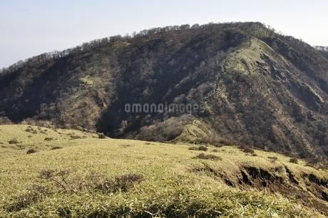 不動ノ峰より日本百名山の丹沢山の写真素材 [FYI03129674]