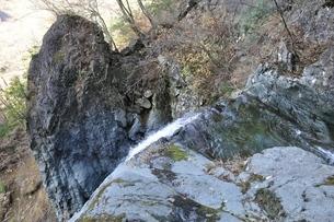 早戸大滝の滝口の写真素材 [FYI03129706]